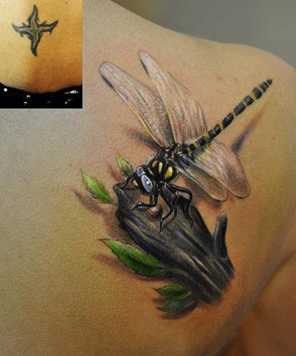dragonfly tattoos photo - 42