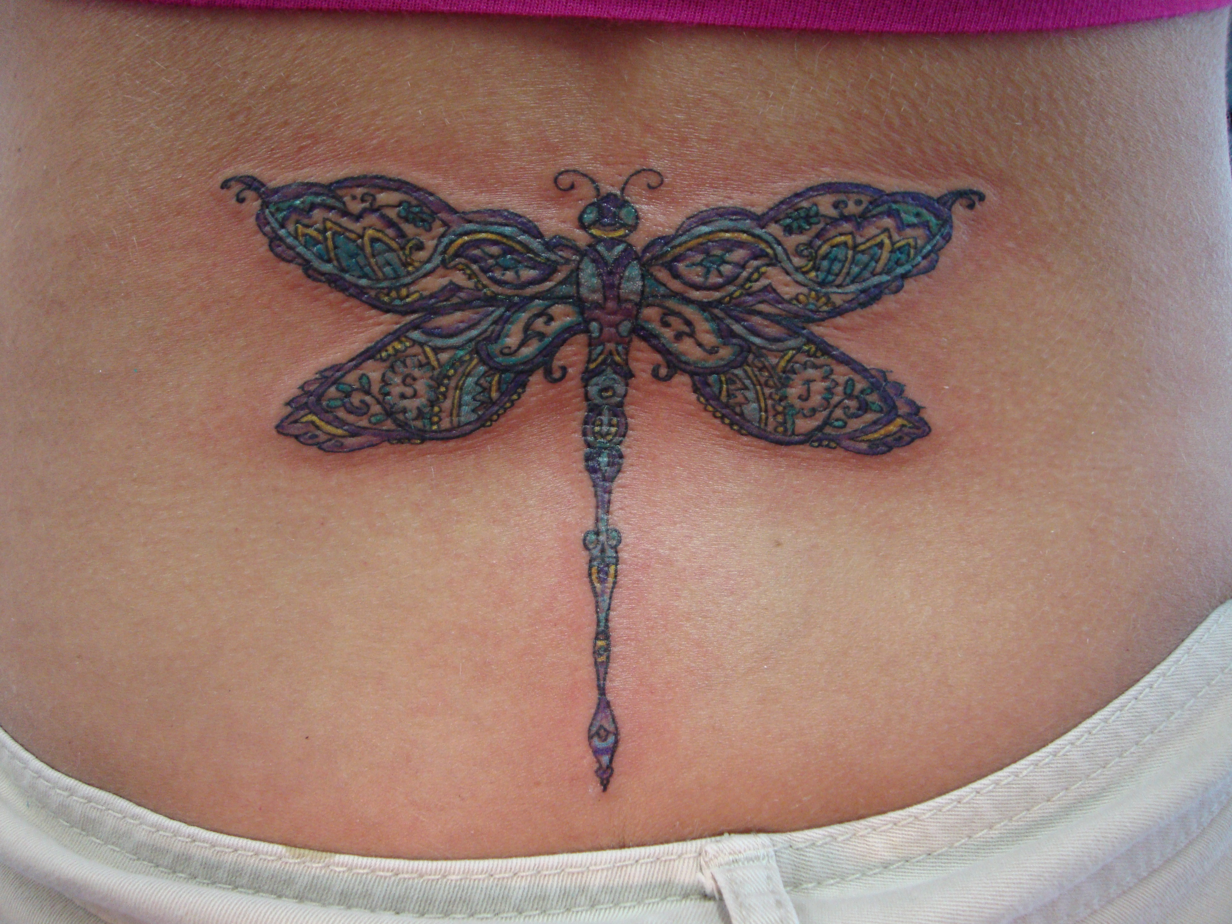 dragonfly tattoos photo - 43