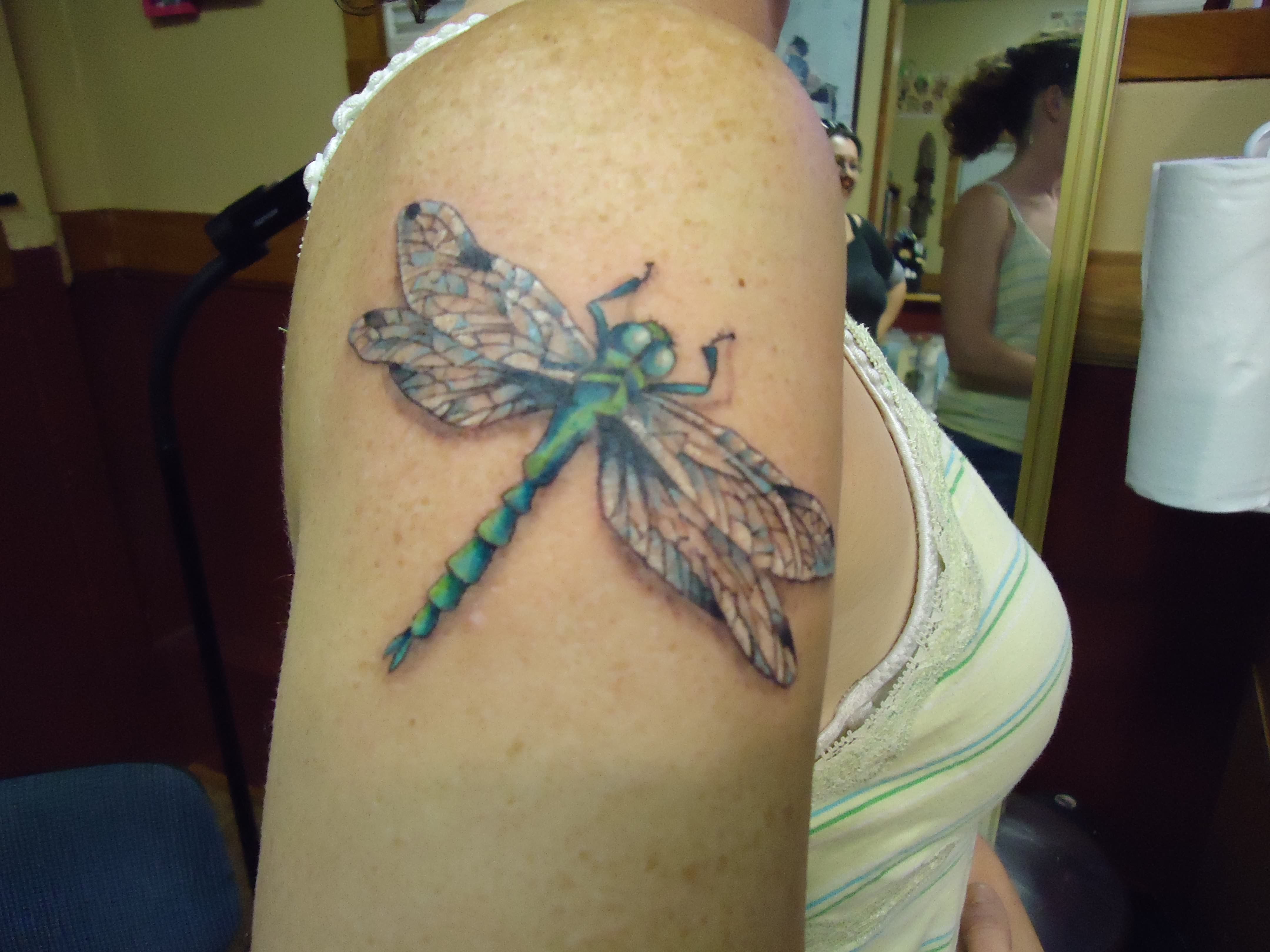dragonfly tattoos photo - 46