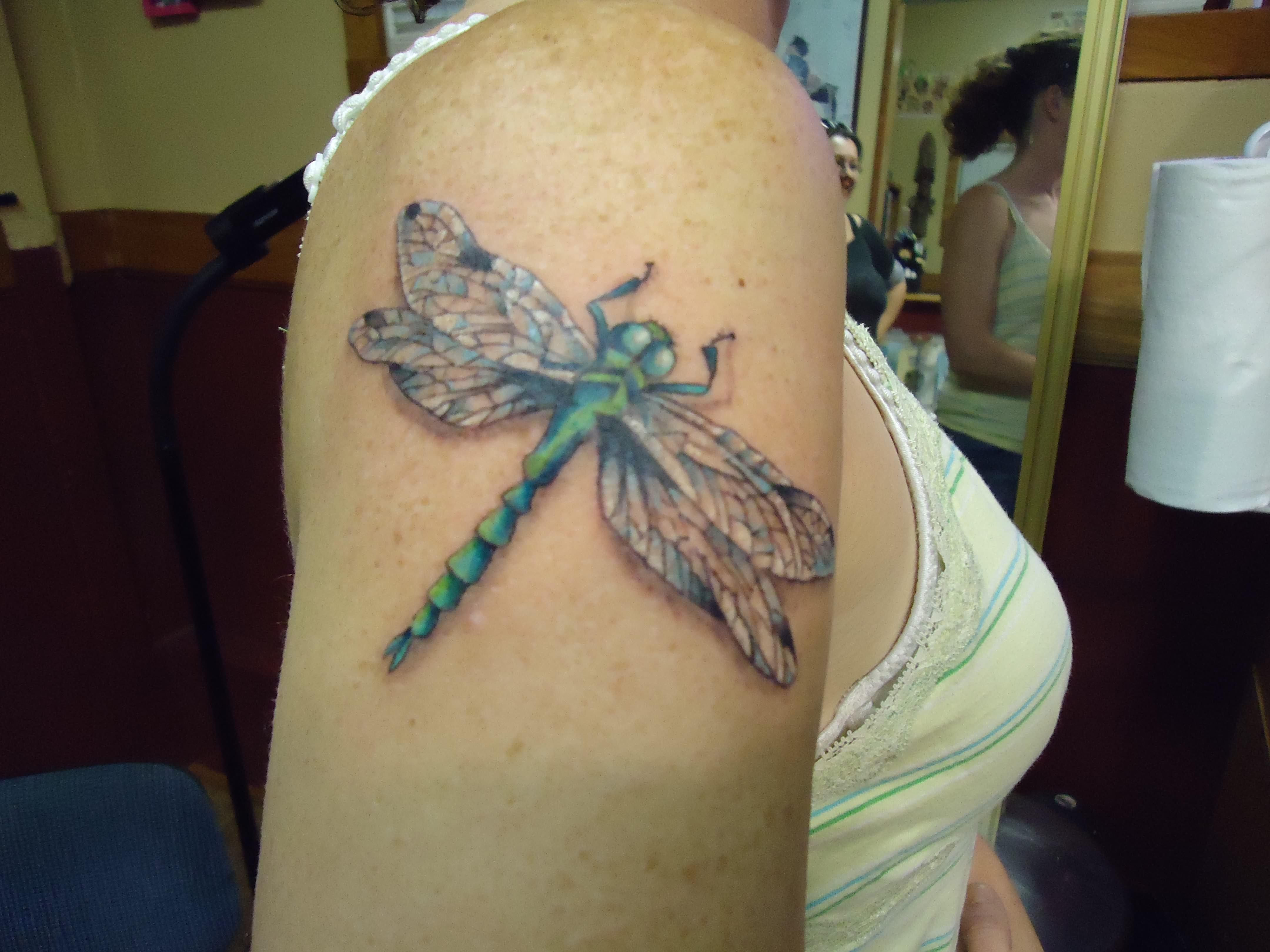 dragonfly tattoos photo - 46