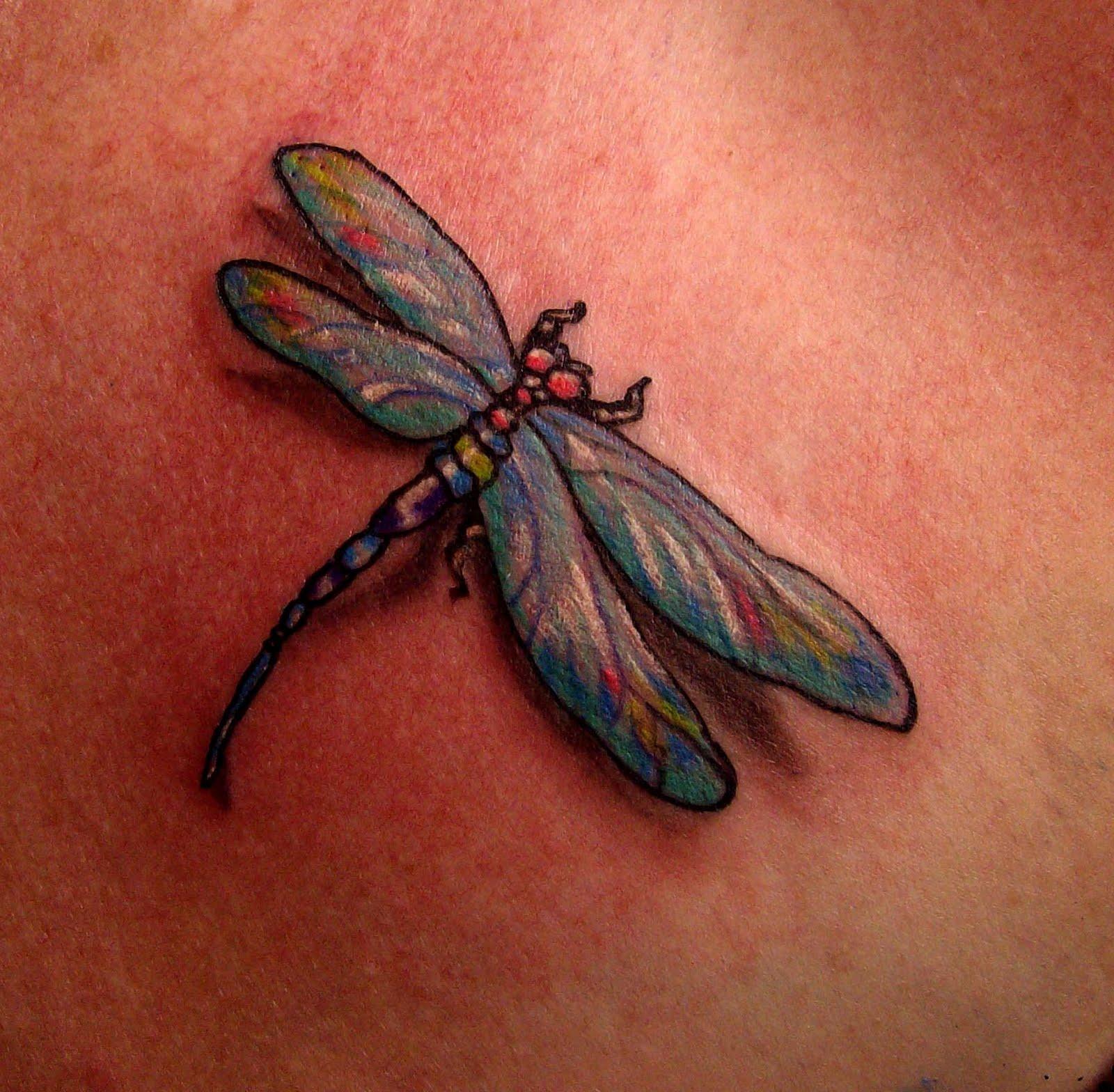 dragonfly tattoos photo - 7