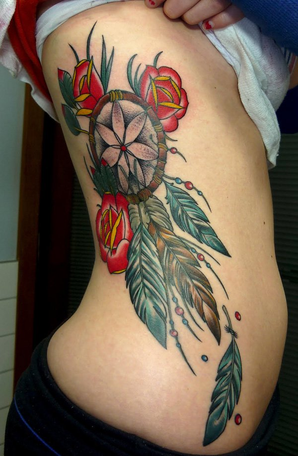 dream catcher tattoos photo - 11