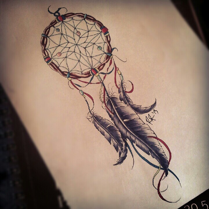 dream catcher tattoos photo - 19