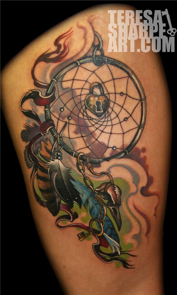 dream catcher tattoos photo - 27