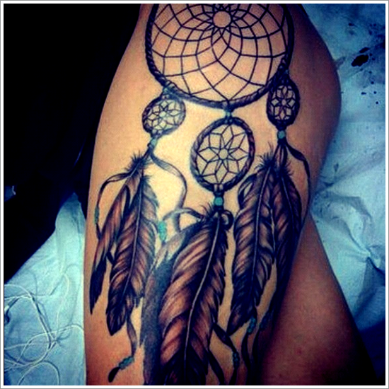 dream catcher tattoos photo - 3