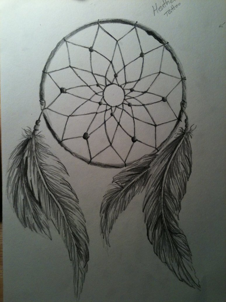 dream catcher tattoos photo - 34