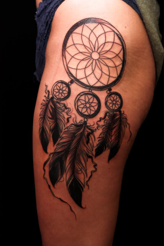 dream catcher tattoos photo - 35