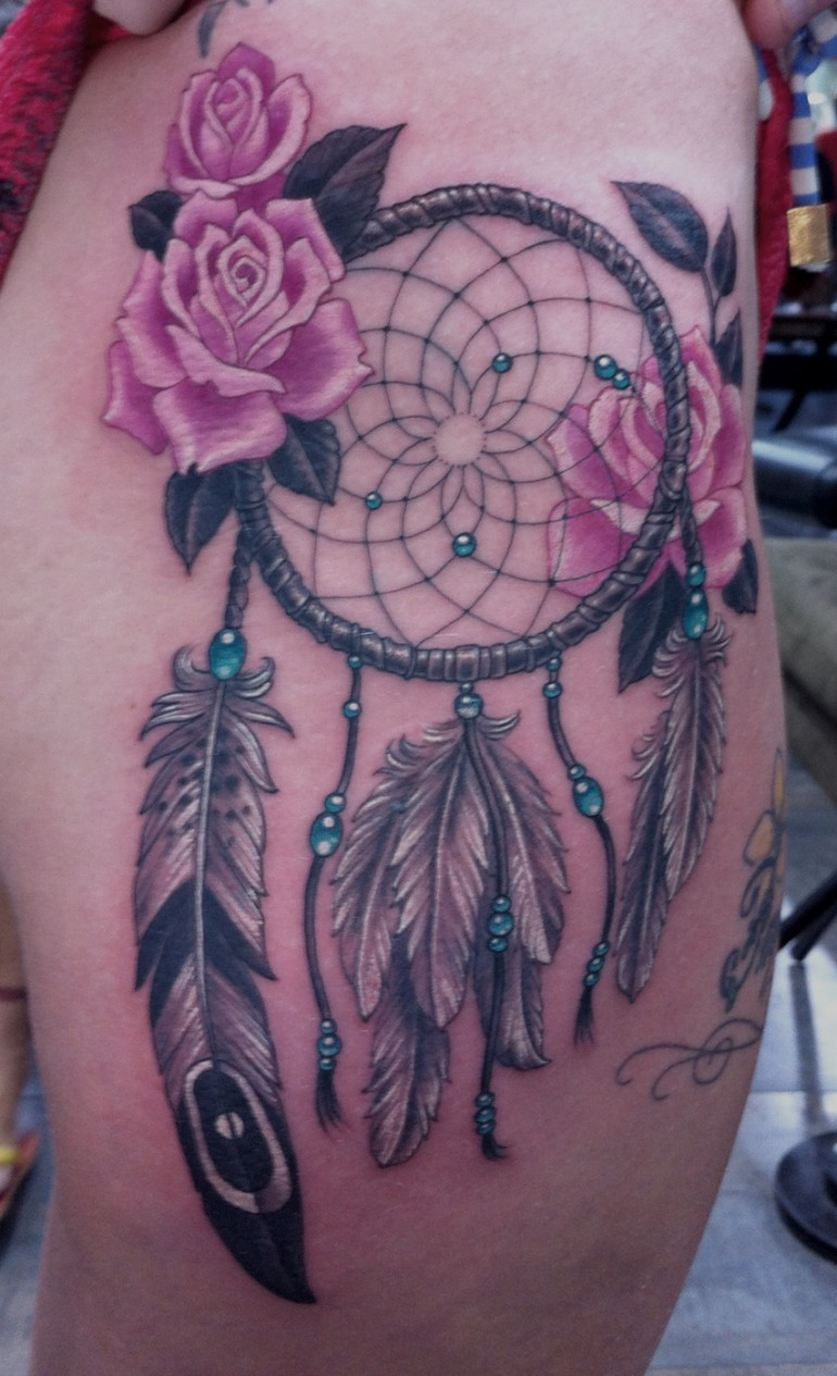 dream catcher tattoos photo - 9