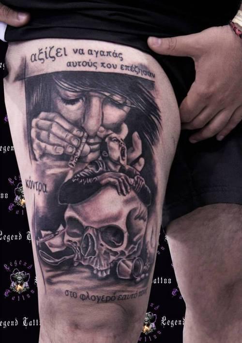 drugs tattoos photo - 3