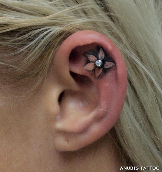 ear tattoos photo - 14