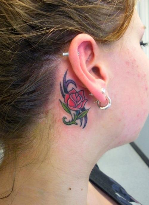 ear tattoos photo - 19