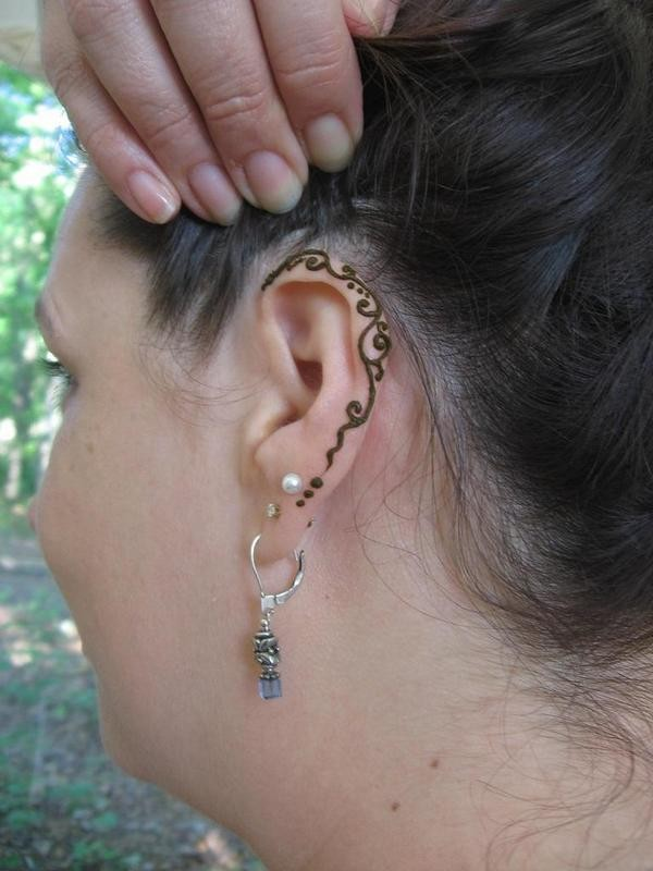 ear tattoos photo - 25