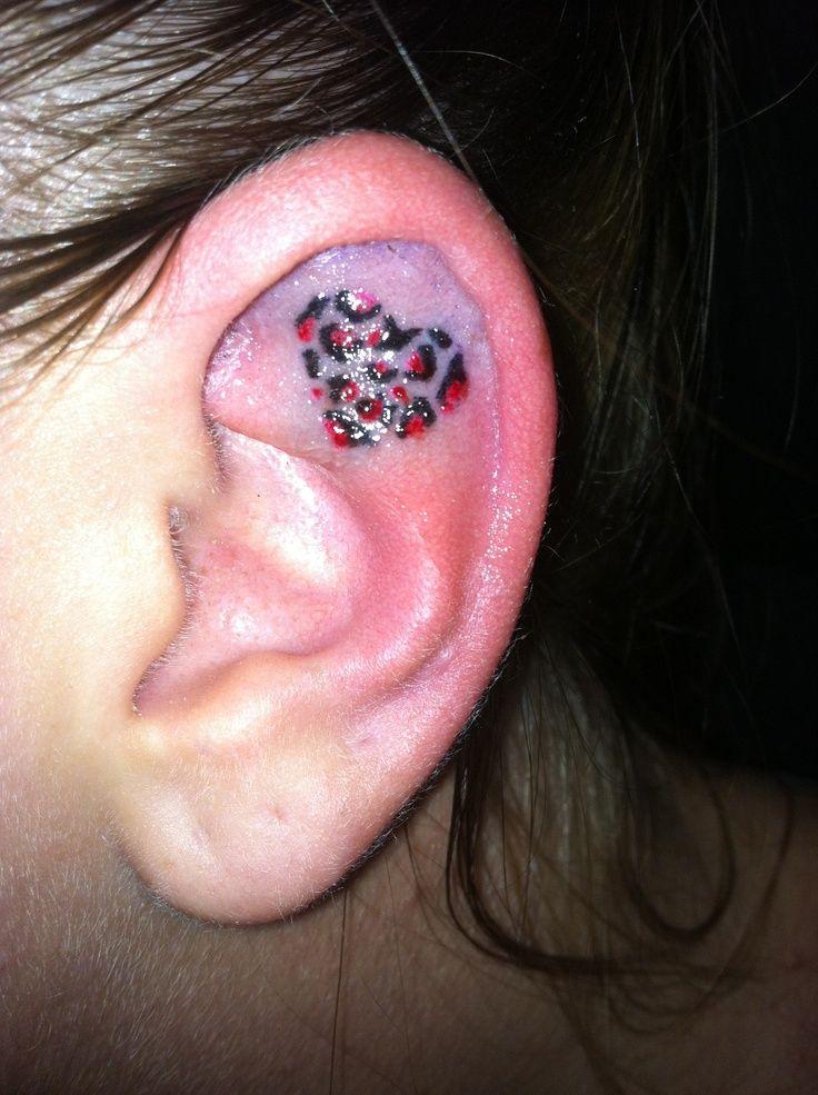 ear tattoos photo - 26