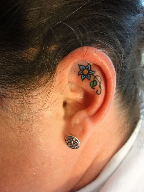 ear tattoos photo - 28