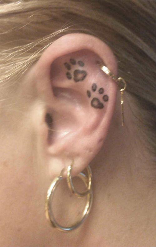 ear tattoos photo - 30