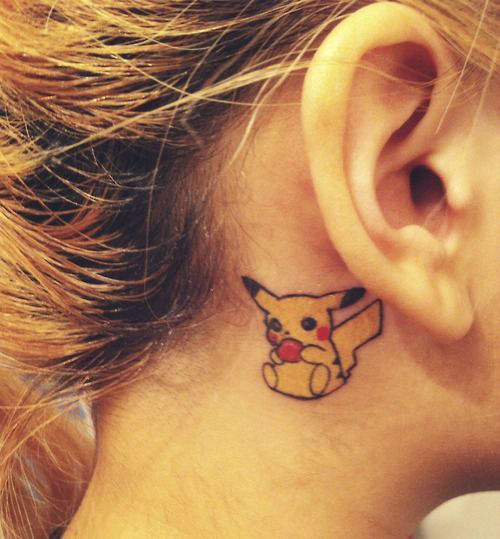 ear tattoos photo - 32