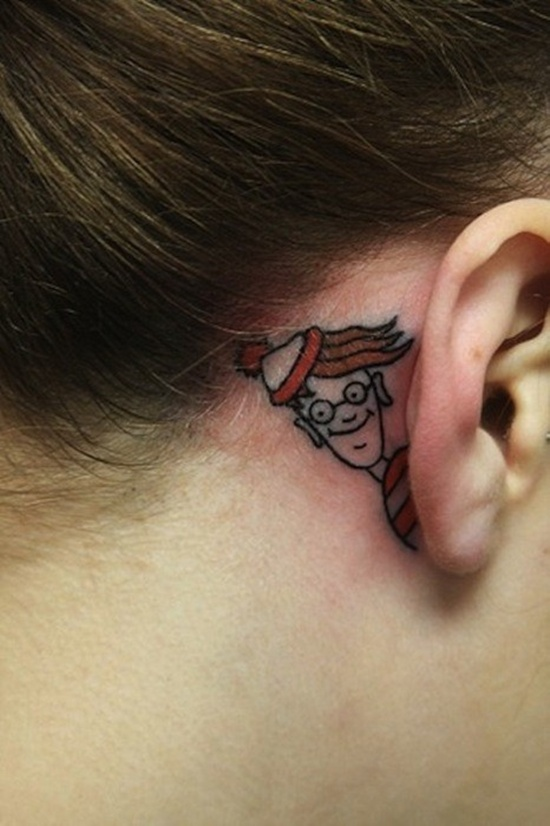 ear tattoos photo - 5