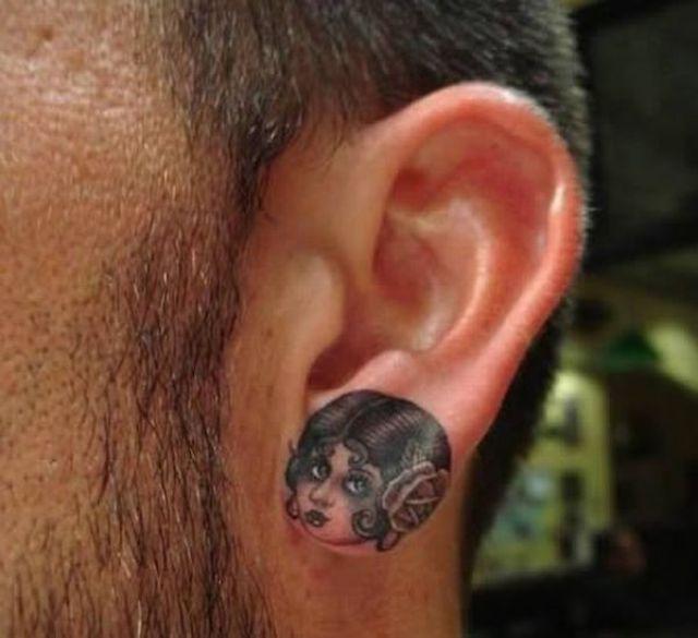 ear tattoos photo - 9