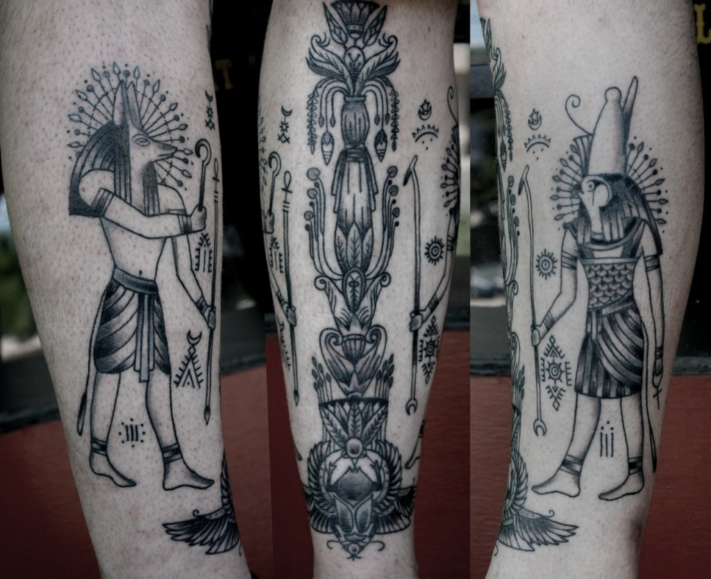 egyptian tattoos photo - 16