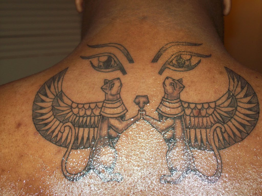 egyptian tattoos photo - 4
