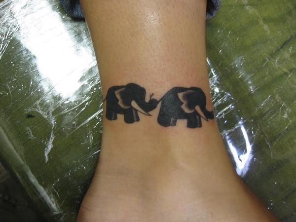 elephant tattoos photo - 12