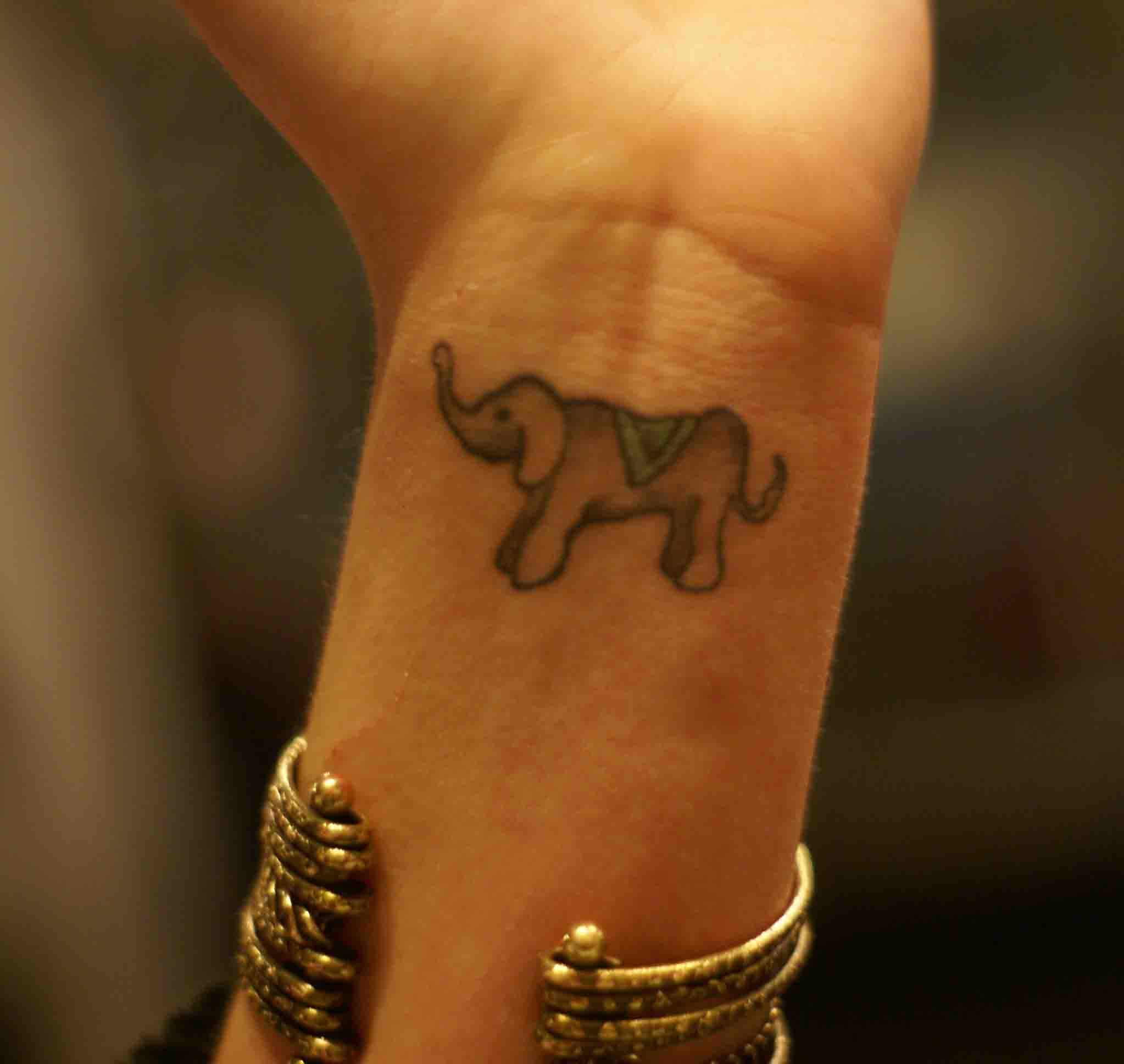 elephant tattoos photo - 15