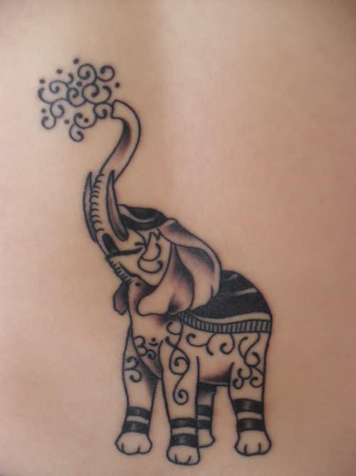 elephant tattoos photo - 17