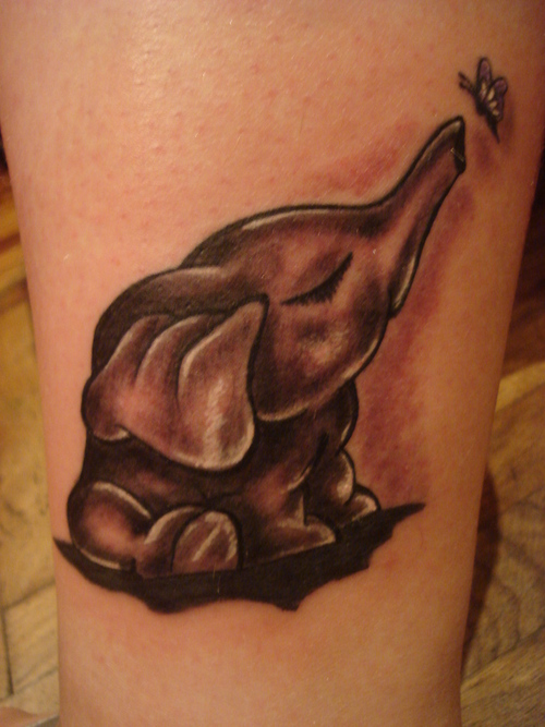 elephant tattoos photo - 2