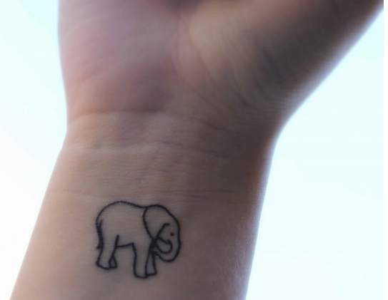 elephant tattoos photo - 20