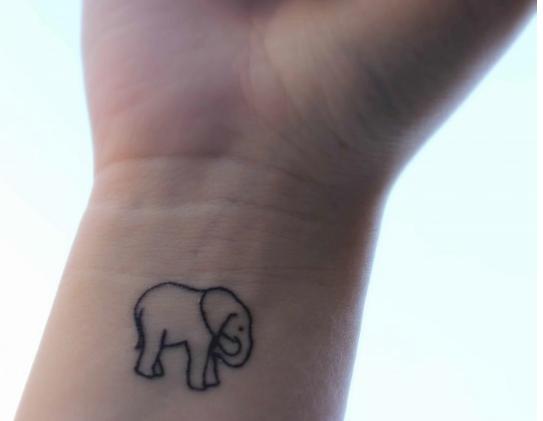 elephant tattoos photo - 20