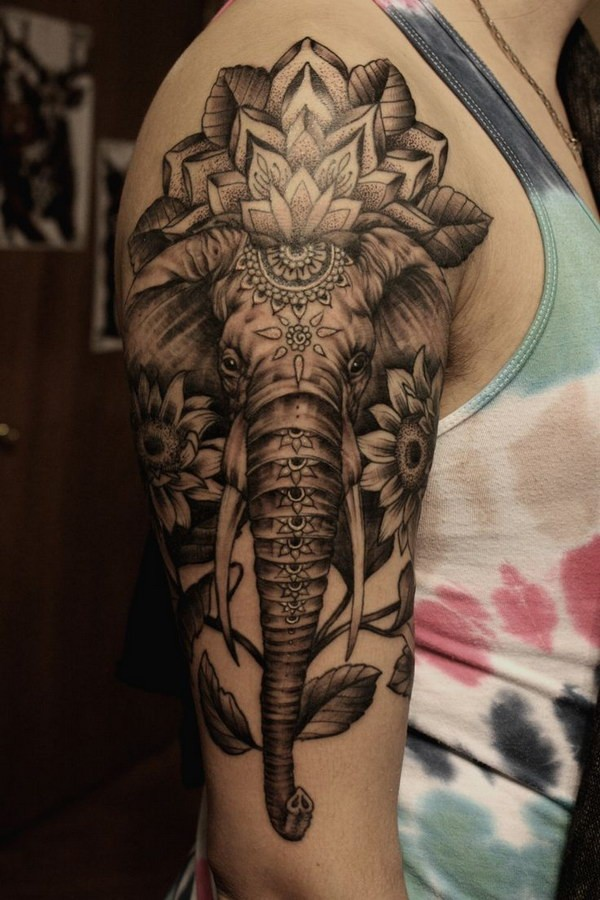 elephant tattoos photo - 22