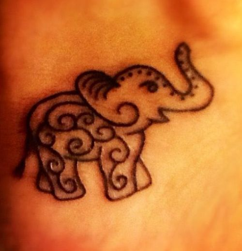elephant tattoos photo - 29