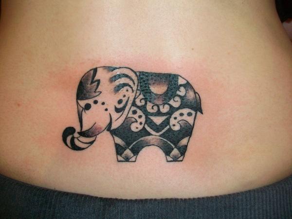 elephant tattoos photo - 32