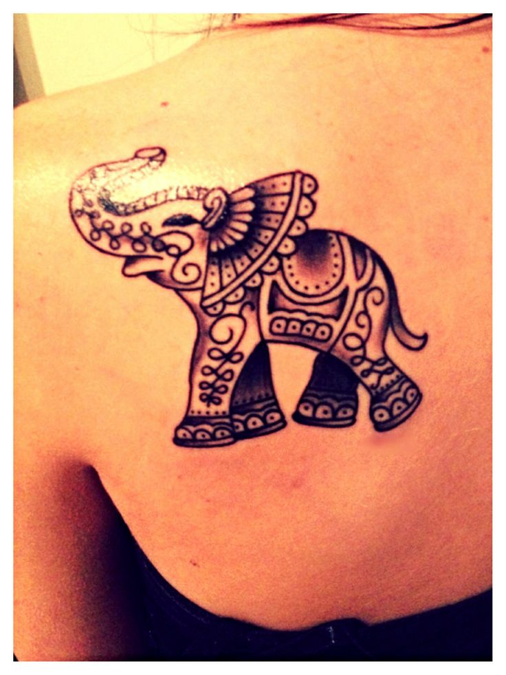 elephant tattoos photo - 35
