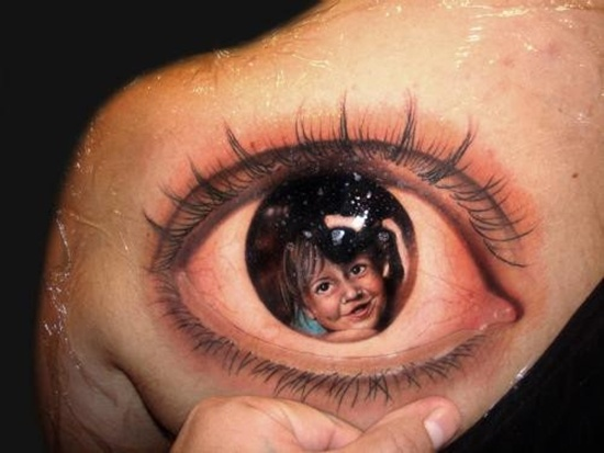 eye tattoos photo - 11