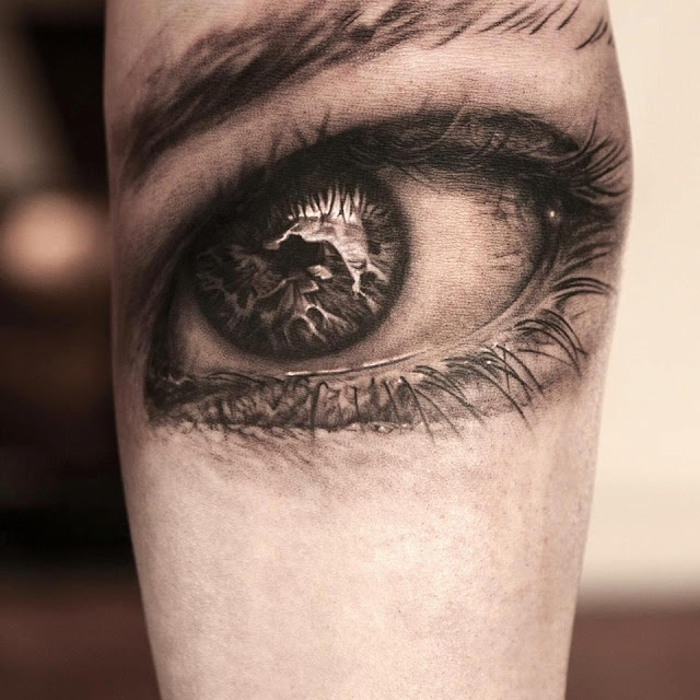 eye tattoos photo - 13