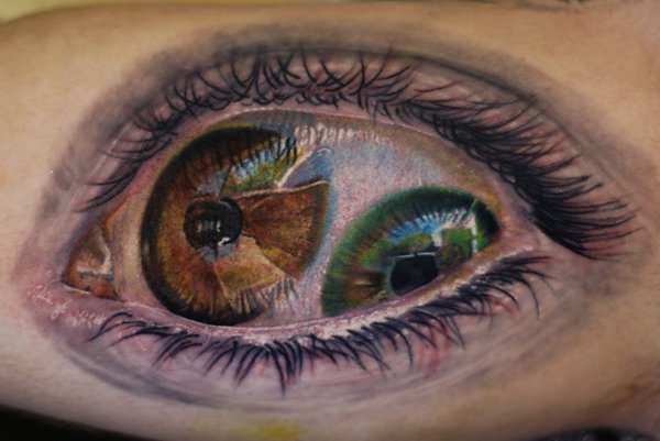 eye tattoos photo - 23