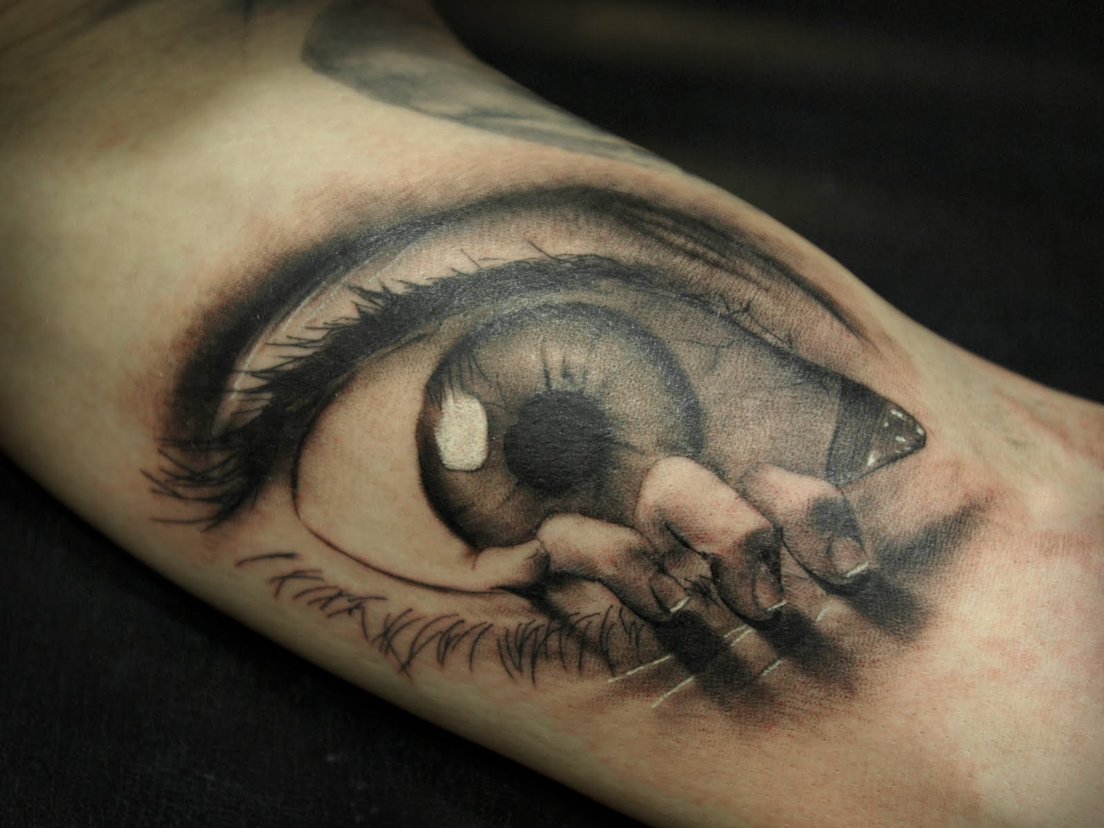 eye tattoos photo - 24