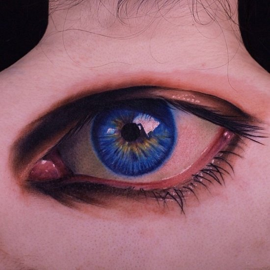 eye tattoos photo - 26