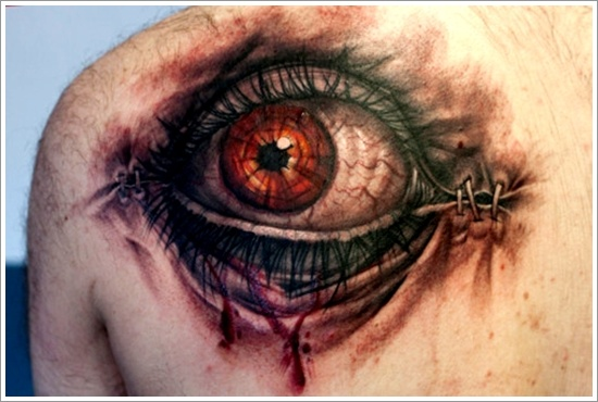 eye tattoos photo - 31