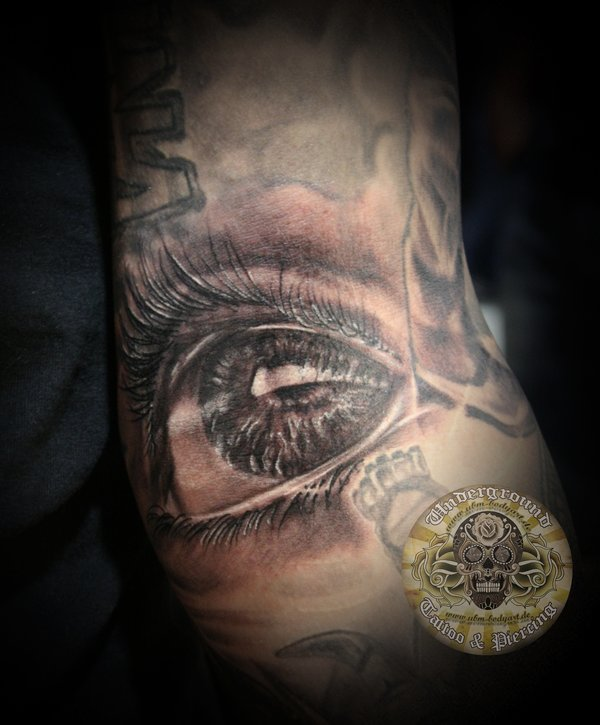 eye tattoos photo - 34