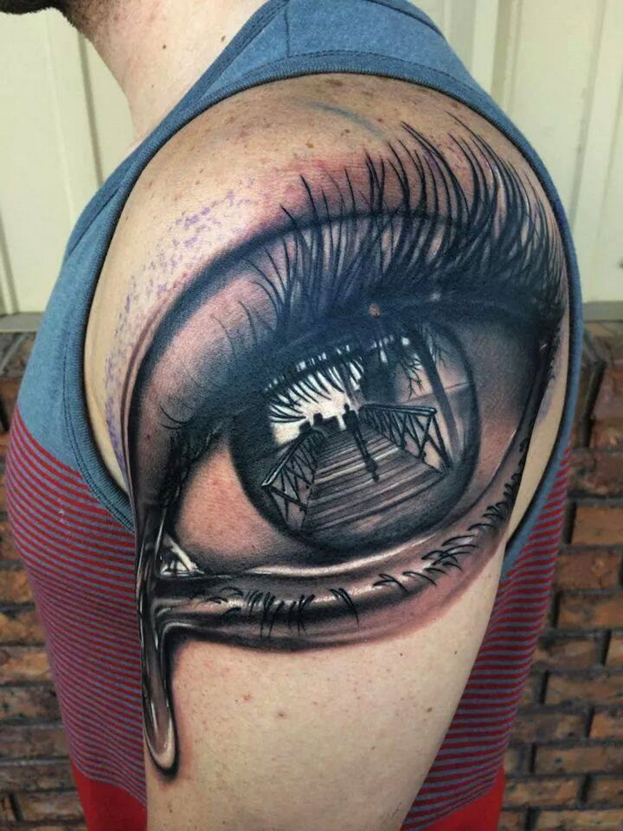 eye tattoos photo - 36
