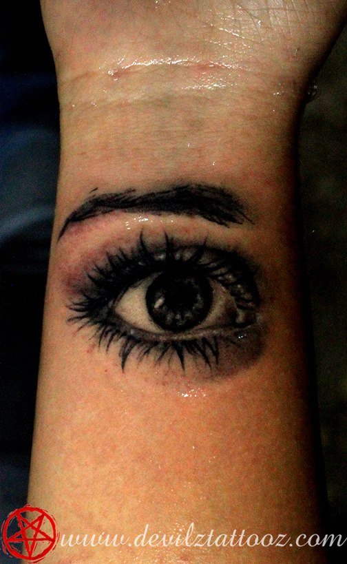 eye tattoos photo - 37