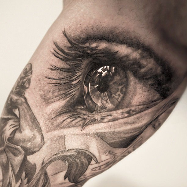eye tattoos photo - 5