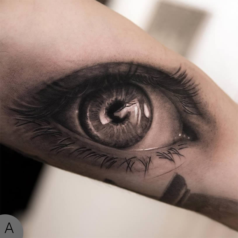 eye tattoos photo - 9