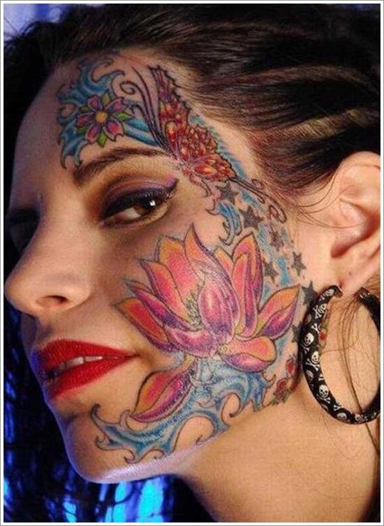 face tattoos photo - 1