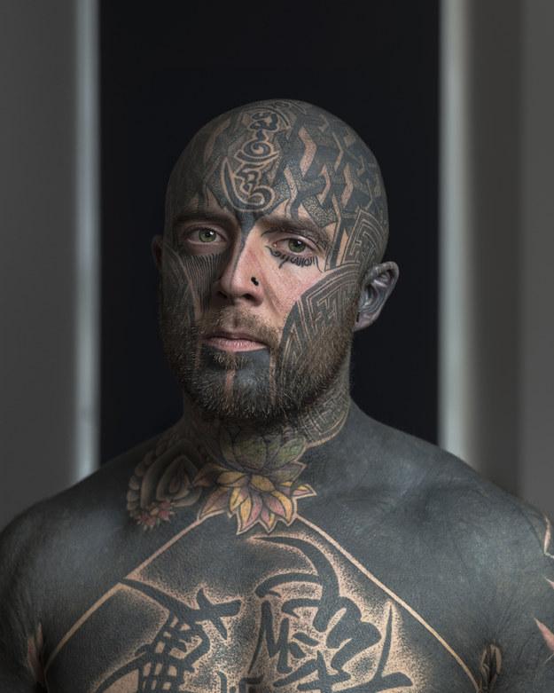 face tattoos photo - 14