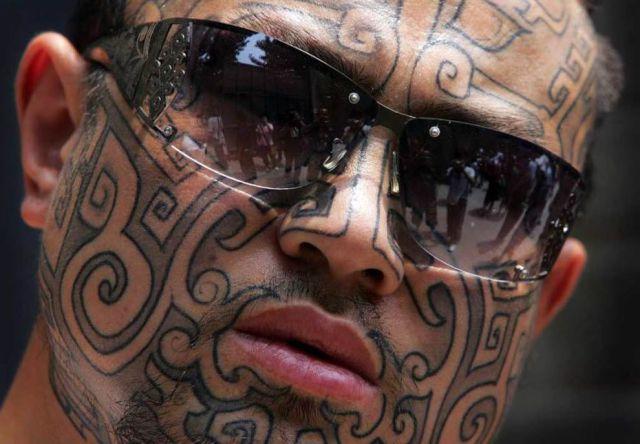 face tattoos photo - 16