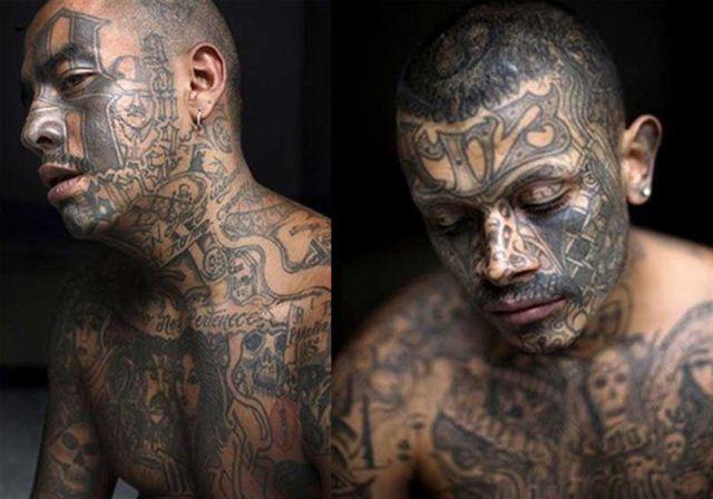 face tattoos photo - 19