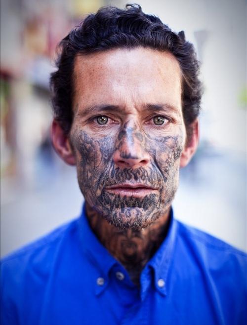 face tattoos photo - 21
